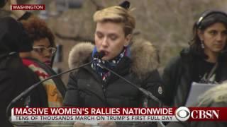 WATCH: Scarlett Johansson speaks at Women