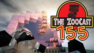 Minecraft Jurassic World (Jurassic Park) ZooCast - #155 A Whole New World!