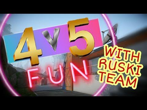 4v5 Win! 18 Kills!! Three Russian Teammates!!! - Warface Ranked Gameplay thumbnail