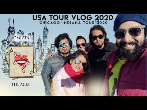Somlata And The Aces  Chicago-indiana Tour 2020  Somlata Acharyya Chowdhury