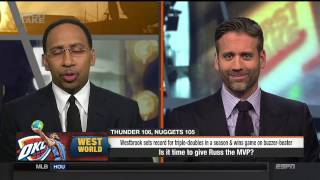RUSSELL IS MVP FIRST TAKE 4/10/17