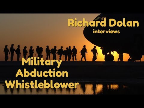 Military Abduction Whistleblower: The Richard Dolan Show (Ni