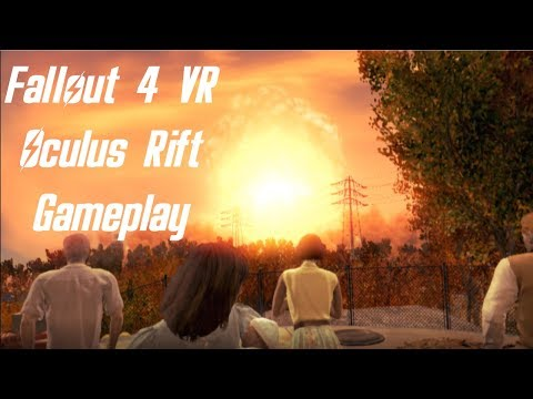 Fallout 4 VR - Oculus Gameplay #1