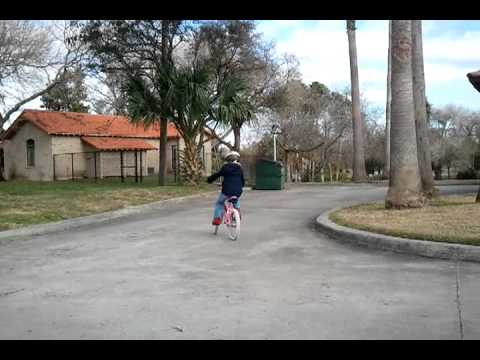 Rachel Riding Her Bike