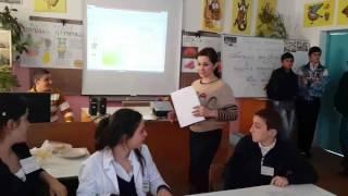 """Урок - конференция """"Новоаульская СОШ"""""""