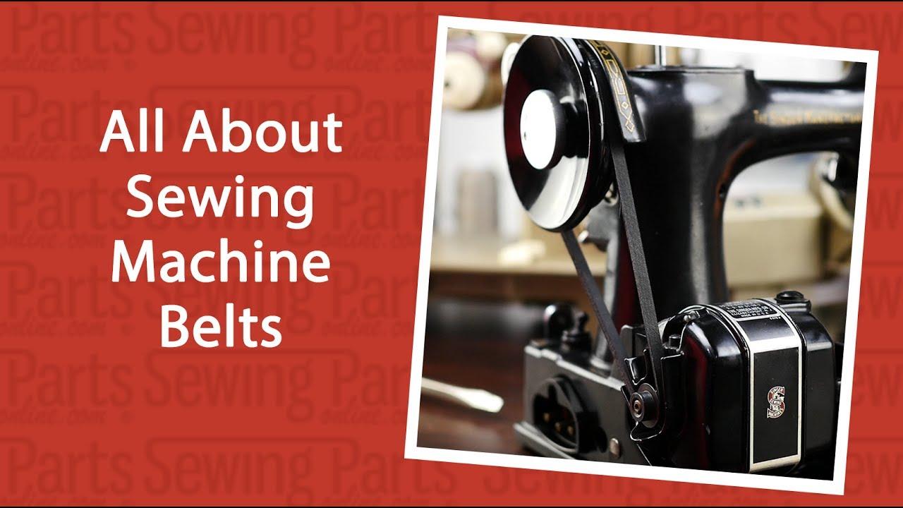 7-78 Lug Motor Belt For Home Sewing Machines #787 Singer White Kenmore