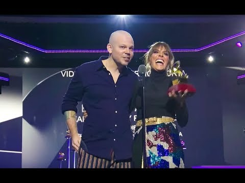 Kany Garcia and Residente Win Best Short Form Music Video | 2019 Latin GRAMMYs Acceptance Speech