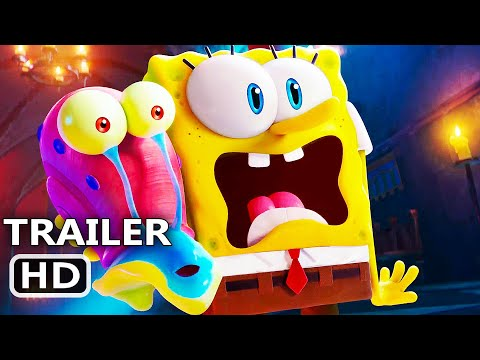 THE SPONGEBOB MOVIE 2 Trailer 3 (New 2021) Sponge on the Run, SpongeBob SquarePants Movie HD