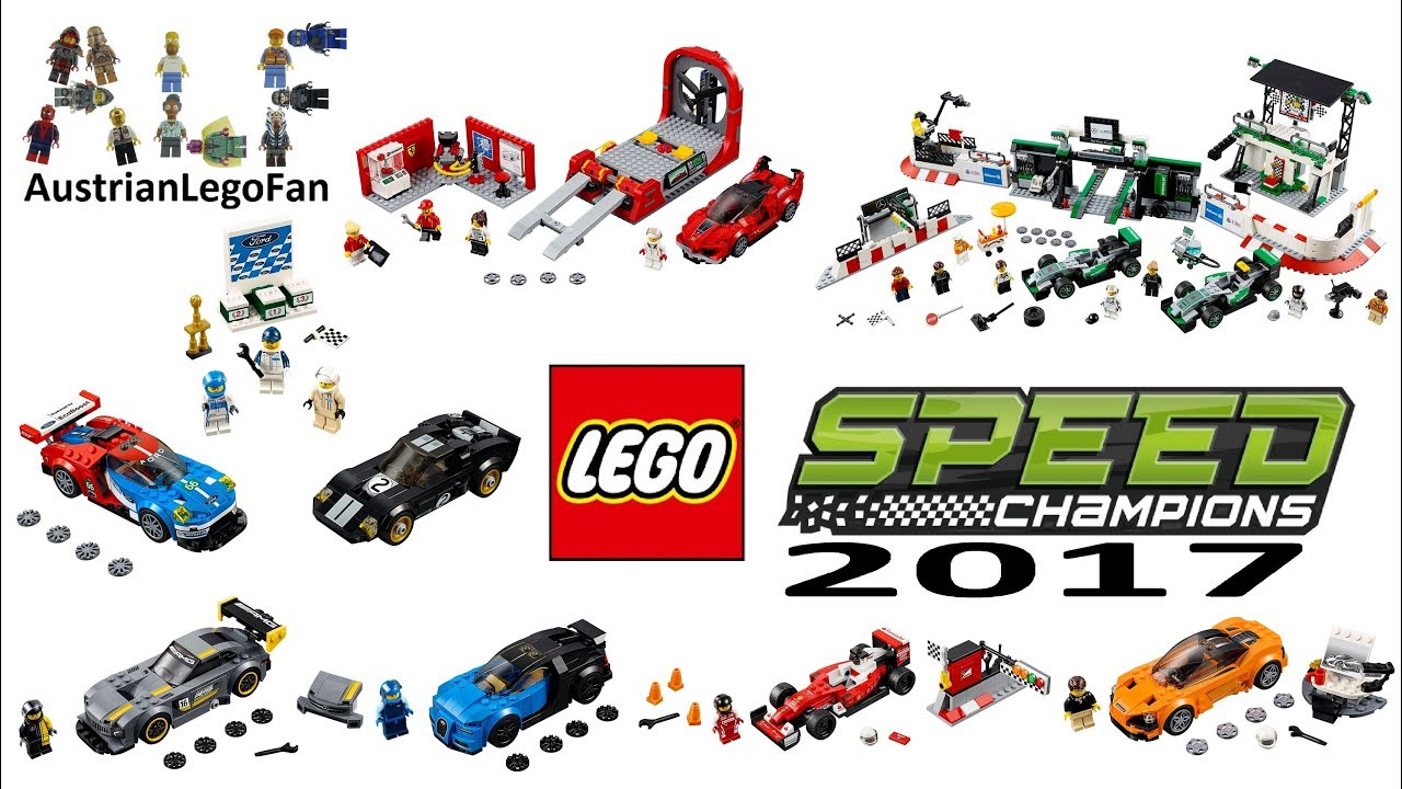 all lego speed champions sets 2017 lego speed build. Black Bedroom Furniture Sets. Home Design Ideas