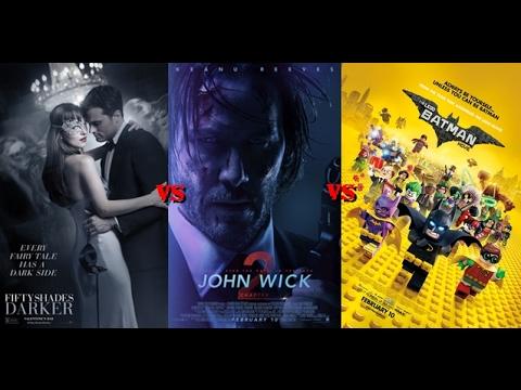 Box Office Showdown Lego Batman Vs. Fifty Shades Darker Vs. John Wick 2