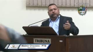 29ª Sessão Ordinária - Vereador Walmir Chaveiro
