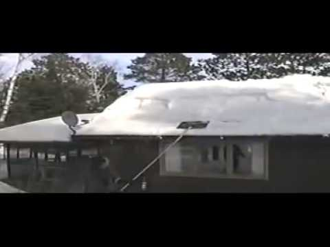 Sno Knife Roof Snow Removal Tool Youtube