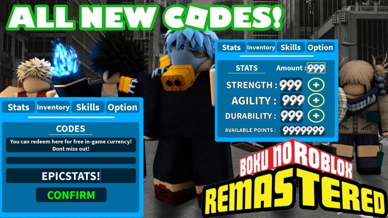 Boku No Roblox All New Codes 3 Epic Codes Roblox Youtube