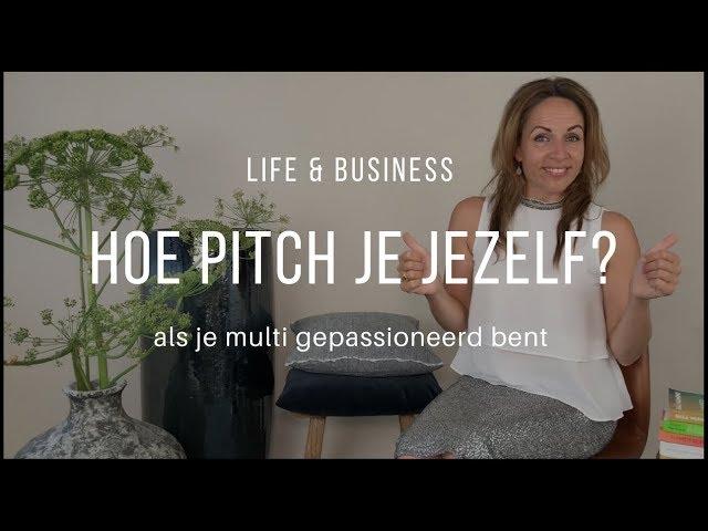 Hoe pitch je jezelf? | Afl. 4 Life & Business