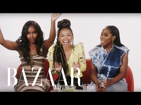 'Dear White People' Cast Plays Never Have I Ever | Harper's Bazaar