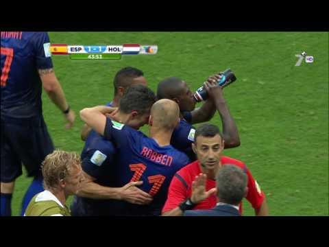 Golazo de Van Persie vs España