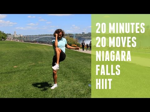 20 Minute HIIT Workout | 20 Exercises | Niagara Falls | The Body Coach