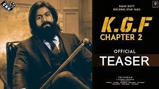 KGF - Chapter 2 Official Teaser | Yash | Prasanth Neel | Ravi Basur | Massive Updates for Fans