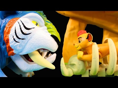 Disney Junior The Lion Guard Defend The Pride Lands Play Set With Lion King Simba And Fun Animals