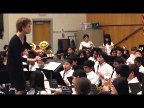 Aryan Clarinet Concert In Grade 6  Millstone River School on Feb6, 2014
