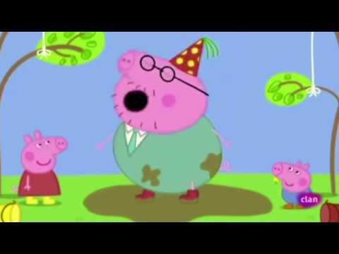 Peppa Pig En Espanol 11 Cumpleanos De Papa Pig Peppa Va A La