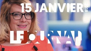 connectYoutube - Le Journal - 15 janvier 2018