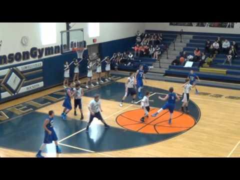 Lowellville vs  Western Reserve, Jr  High BB, 1 31 15