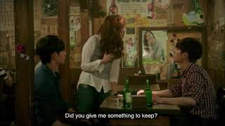 Cheese in the trap: hong seol drunk (funny moment) eng sub