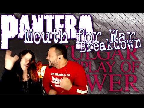 PANTERA Mouth For War Reaction!!