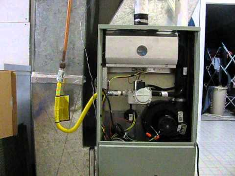 American Standard SI Furnace - Problems with new unit