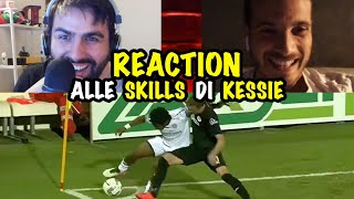 REACTION ALLE SKILLS DI KESSIE - feat Steve