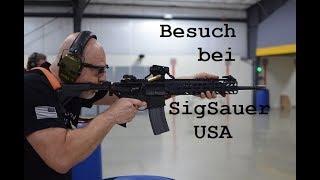 Besuch bei SigSauer Arms USA