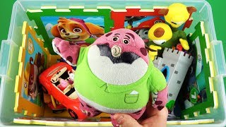 Characters, vehicles & colors: Learn videos for kids with Peppa Pig, Paw Patrol, Ben & Holly and etc