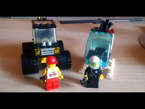 Heti videó: 06# Vintage Lego 6.rész - Police Helicopter, Highway Patrol, Road Trail 4x4