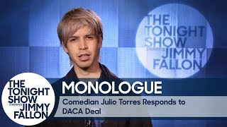 Comedian Julio Torres Responds to DACA Deal