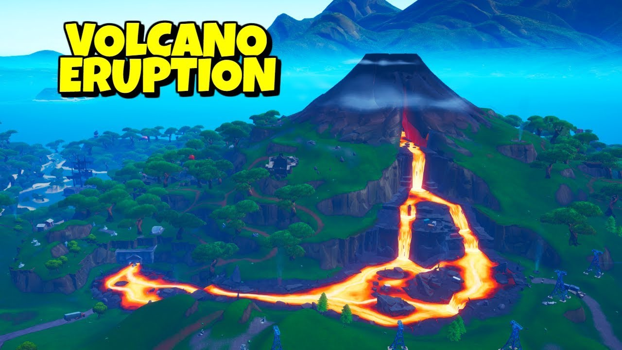 Fortnite Volcano Set To Erupt Leaks Reveals The Aftermath