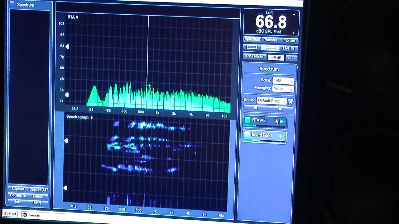 Smaart - Real Time Analyzer