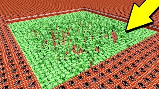 100,000 TNT VS 1,000 CREEPERS IN MINECRAFT!