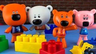 Ми-ми-мишки VS Ни-ми-мишки Кто настоящие Мультики с игрушками для детей Mimimishki video
