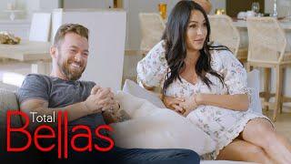 Brie and Artem play a joke on Nikki: Total Bellas, Dec. 10. 2020