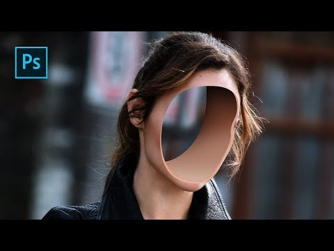 How To Create Hole Face Manipulation Effect In Photoshop - Photoshop Tutorials