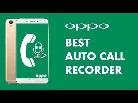 Oppo Auto Call Recorder