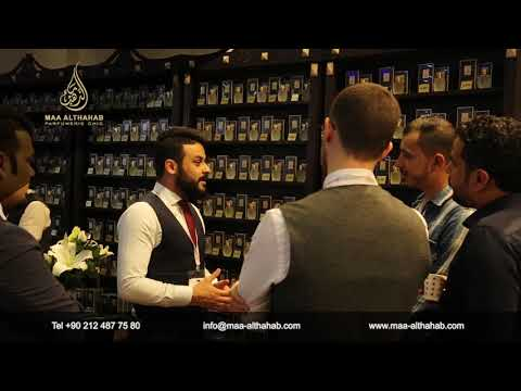 MAA-ALTHAHAB Perfumes at Beauty Eurasia Exhibition, Istanbul/ Turkey 2018