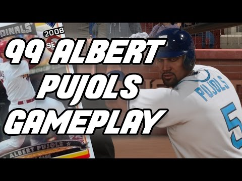 99 ALBERT PUJOLS IS THE BEST CARD - MLB 16 THE SHOW DIAMOND DYNASTY BATTLE ROYALE