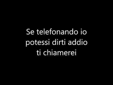 Nek-Se telefonando + testo