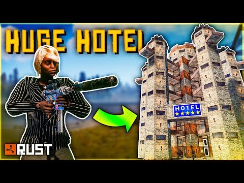 Running the BIGGEST HOTEL for ROLEPLAYERS - Rust Shop Series