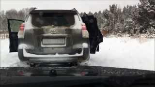 Toyota Land Cruiser Prado и Hover H3 покатушки по снегу