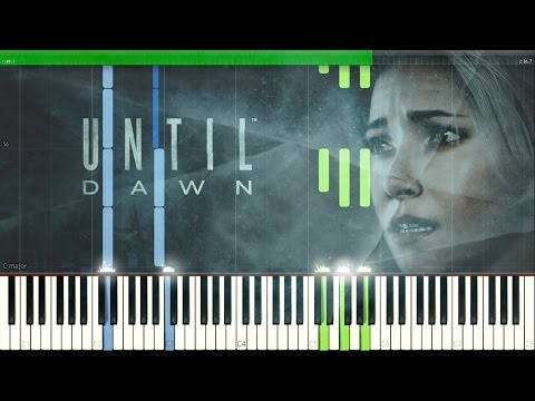 O Death - Amy Van Roekel (Until Dawn Intro Song) [Synthesia Piano Tutorial]