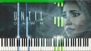O Death - Amy Van Roekel (Until Dawn Intro Song) [Synthesia Piano Tutorial]