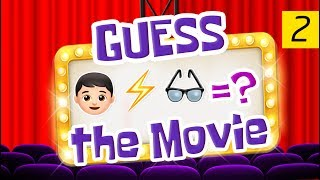 Can You Guess All The Movies? | Emoji Challenge 2 😃